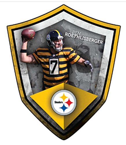 FATHEAD Ben Roethlisberger Pittsburgh Steelers Official NFL Vinyl Wall Graphic 21