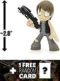 "Daryl Dixon: ~2.8"" Walking Dead x Funko Mystery Minis Vinyl Figure Series #3 + 1 FREE Official Walking Dead Trading Card Bundle (UNCOMMON) [47689]"