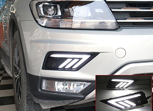 Emblem Trading Emblem Nebelscheinwerfer Lichter LED Autozubeh/ör