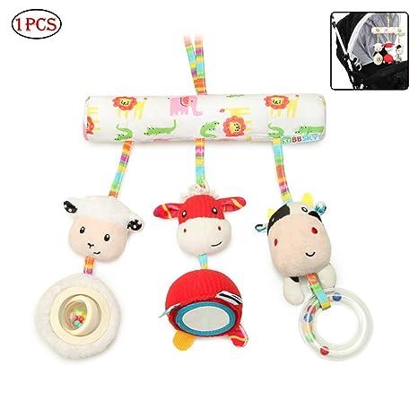 Naisicatar giocattoli del bambino morbida Rattle Toy neonato Passeggino Car Seat Culla peluche giocattolo Nizza regalo