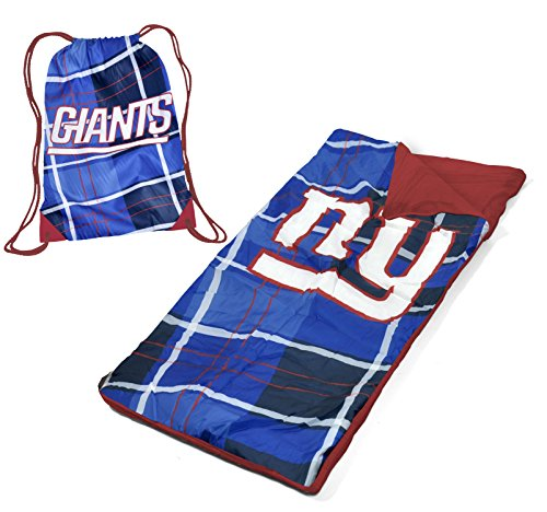 NFL New York Giants Drawstring Carry Bag With Sleeping Sack