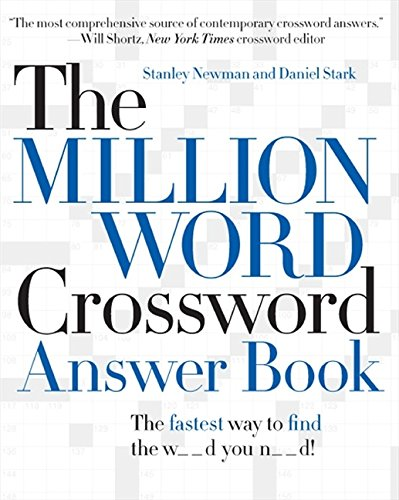 Million Word Crossword Dictionary (The Million Word Crossword Answer Book)