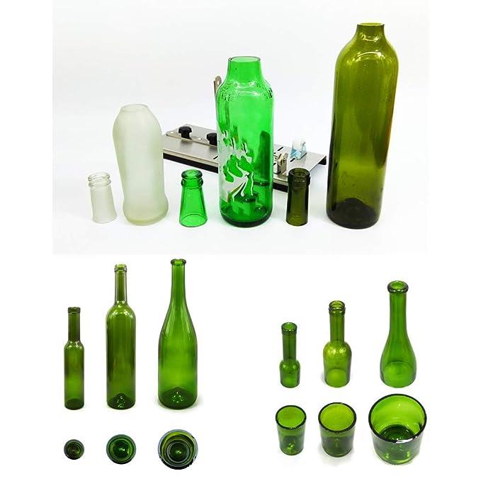Cortador de botellas, herramienta de cortador de botellas de vidrio ...