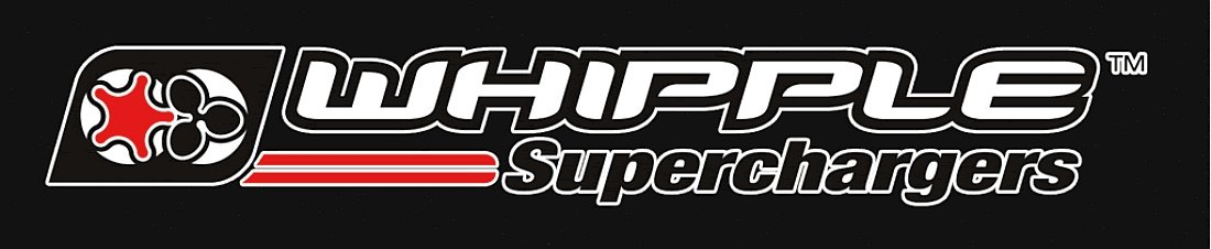 Whipple Superchargers Performance Racing Logo'd Full Color