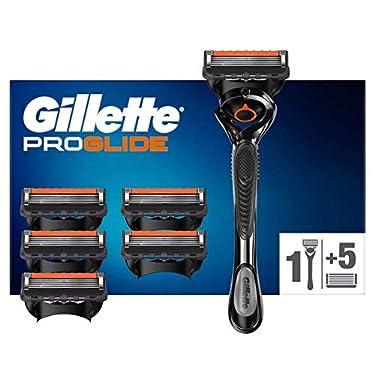 Gillette-ProGlide-Maquinilla-de-Afeitar-Hombre-con-Tecnologia-Flexball-6-Cuchillas-de-Recambio-El-Diseno-Exterior-del-Paquete-Puede-Variar