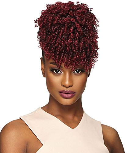 Drawstring Synthetic (HOTTIE (4 Medium Brown) - Outre Timeless Pineapple Pony Synthetic Drawstring Ponytail)