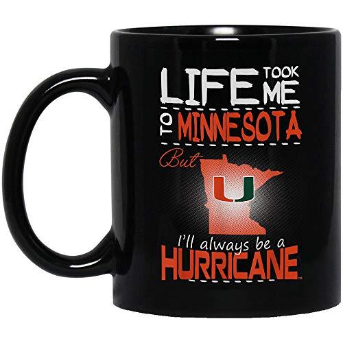 (Yume Mug - Miami Hurricanes Life Took Me To - Apparel Black Mug,)