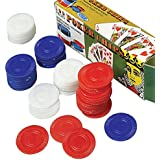 U. S. Toy Bulk Poker Chips - 100 Pieces