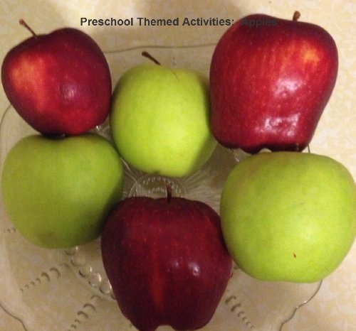 Preschool Themed Activities:  Apples