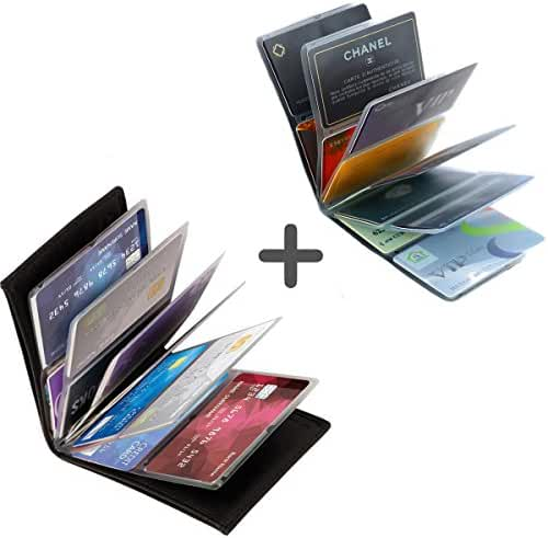 Wonder Wallet - Amazing Slim RFID Wallet for Men and Women AS Seen On TV + Wonder Wallet insert