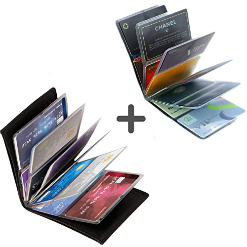 Wonder Wallet – Amazing Slim RFID Wallet for Men and Women AS Seen On TV + Wonder Wallet insert