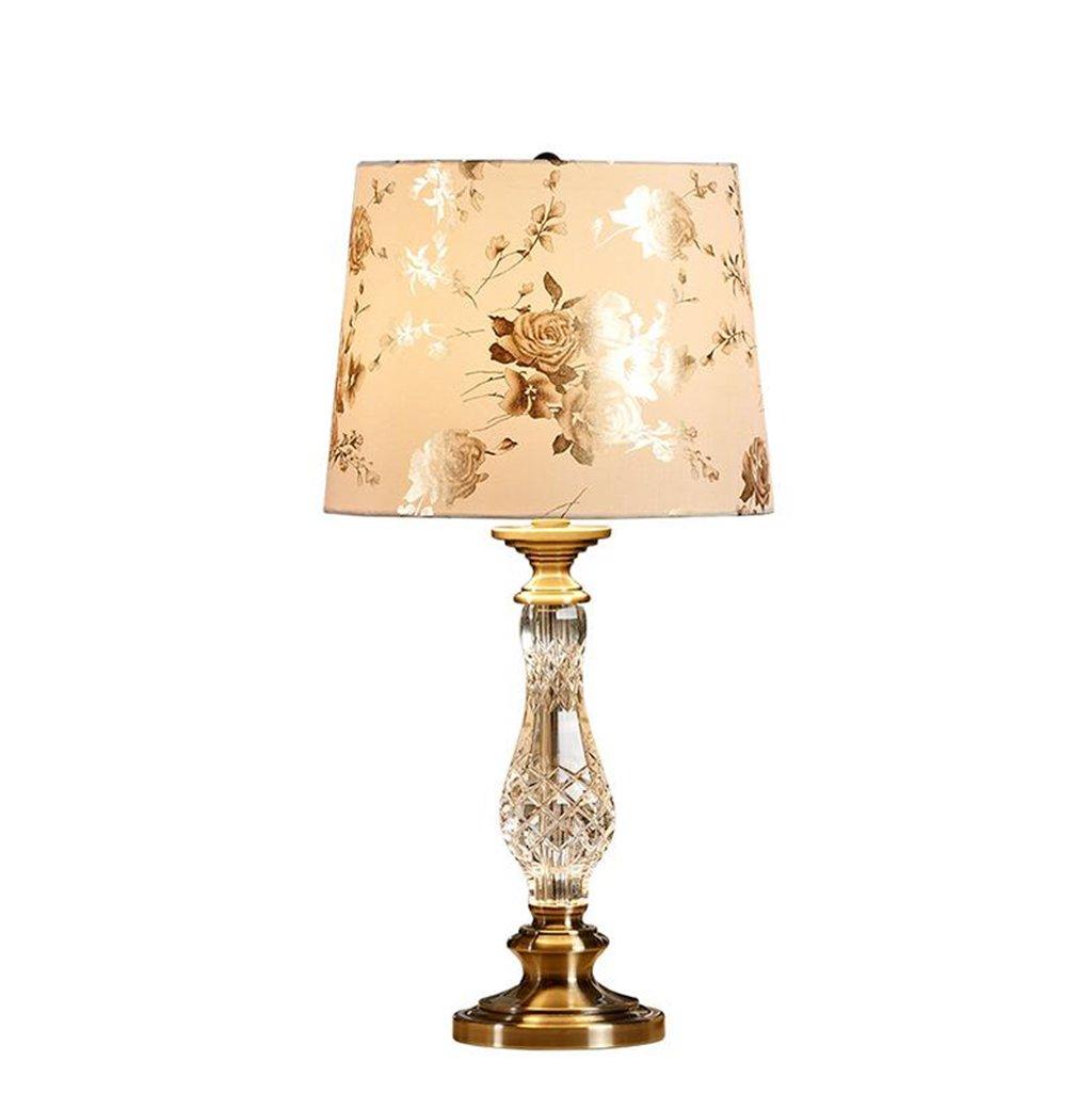 Amazon Com Xzlight Chinese Style Desk Lamp Crystal Bedroom Study