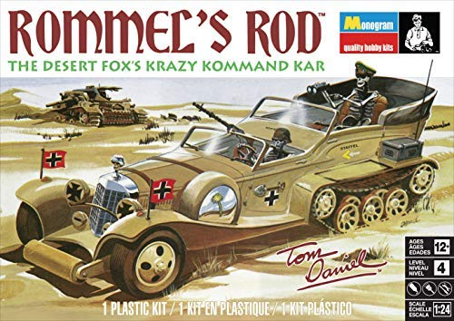 - Monogram Rommels Rod 1/24 Scale