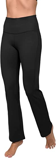 entra/înement Stretch Leggings de Yoga pour Femme contr/ôle du Ventre Kyopp Pantalon de Yoga Taille Haute pour Femme Course /à Pied