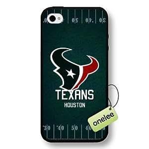 NFL Houston Texans Team Logo Case For Samsung Galsxy S3 I9300 Cover Black Hard Plastic Case CovBlack