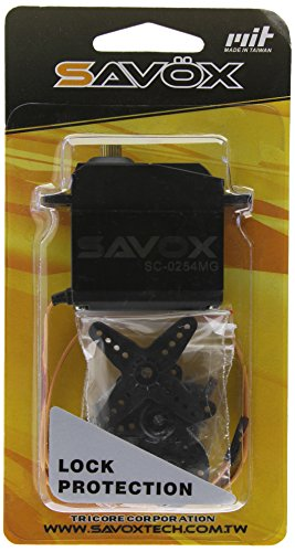 Savox SC-0254mg High Torque Standard Size Digital Servo