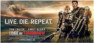 14446 Edge of Tomorrow Tom Cruise Emily Blunt Movie LAMINATED POSTER US