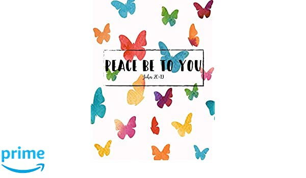 John 20:19 Peace be to you: Bible Verse Quote Cover