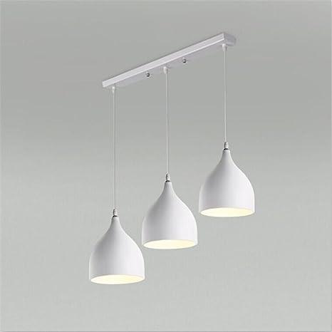 yupd lámpara colgante aluminio 3 de escalera de comedor Bar ...