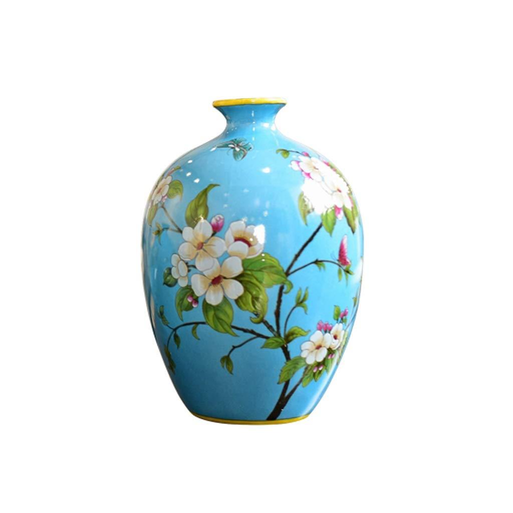 陶芸水耕栽培花瓶アメリカのリビングルームの柔らかい調度品花の花の挿入器の装飾 anQna (形状 けいじょう : 2) B07SCYN1X3  2