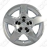 "Chrome 17"" Hub Cap Wheel Covers for Chevrolet Malibu & Pontiac G6 - Set of 4"