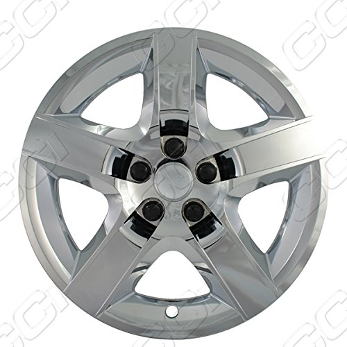 "Chrome 17"" Hub Cap Wheel Covers for Chevrolet Malibu & Pontiac G6 - Set of 4"