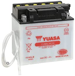 Yuasa YUAM2S6CL YB16CL-B Battery