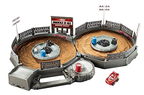 Disney Pixar Cars Playsets - Disney/Pixar Cars Mini Racers Crank & Crash Derby Playset
