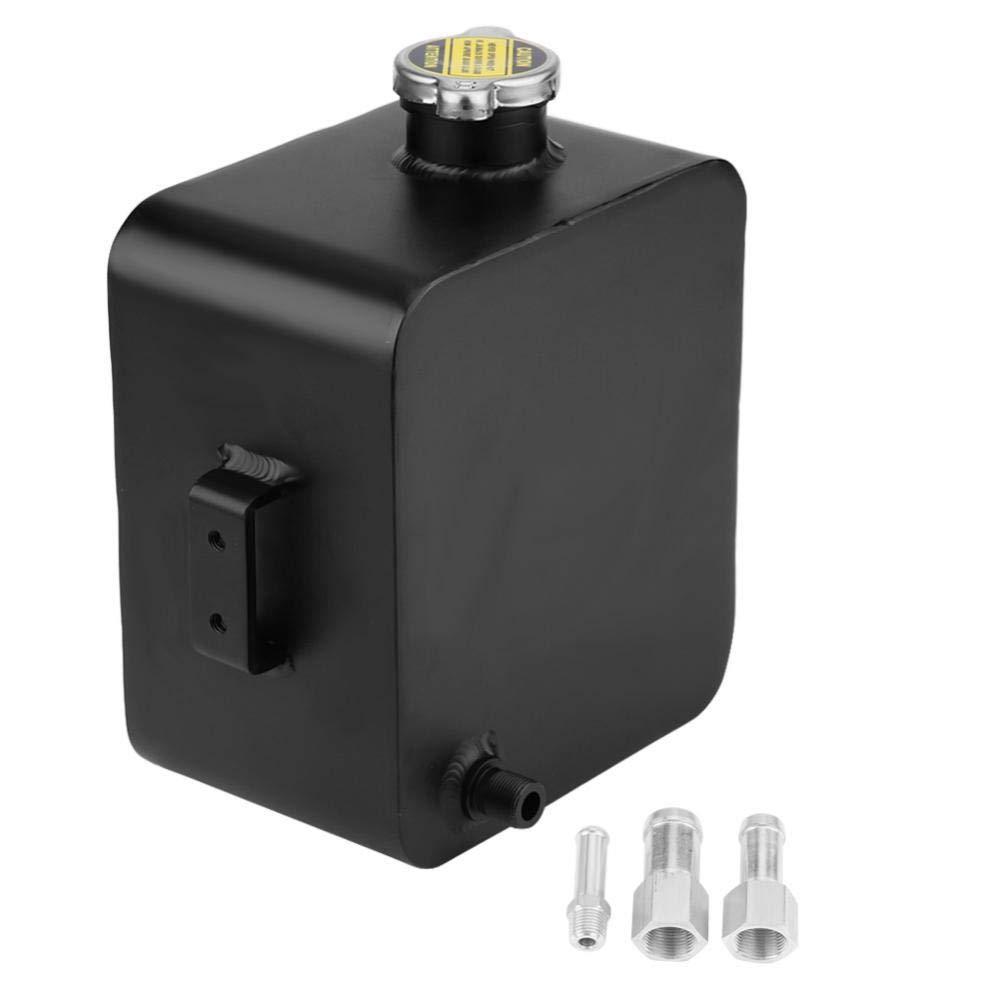 2.5L radiatore refrigerante serbatoio di espansione,Serbatoio Compensazione per Refrigerante con tappo, in alluminio GOTOTOP