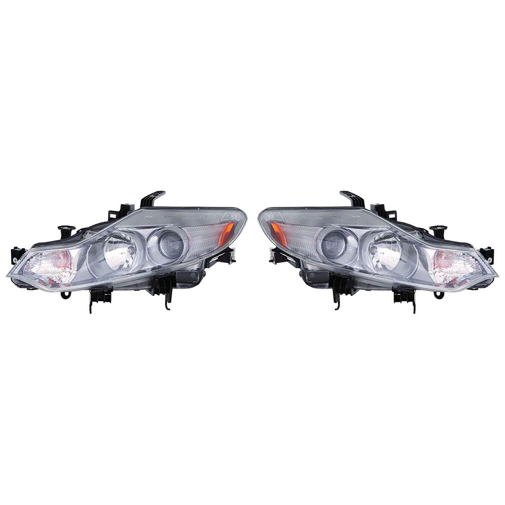 Fit 09-14 Murano Headlights Replacement Halogen Only 2009-2014 Light Lamps