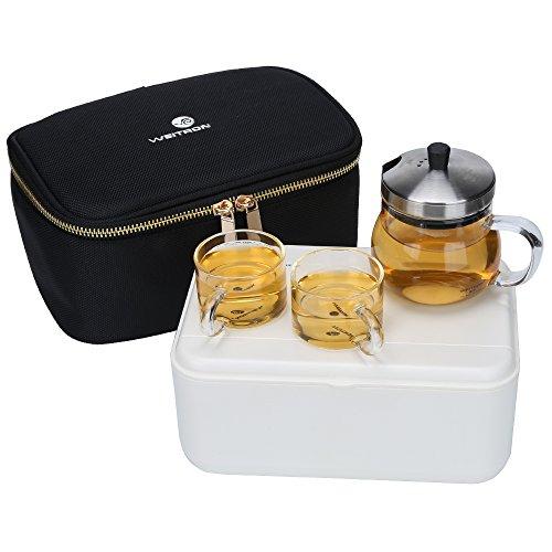 8 cup glass teapot - 8
