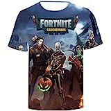 Fortnite 3D printing T-shirt round neck short sleeve fashion T-shirt