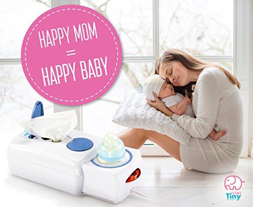 Baby wipe warmer and Baby bottle warmer