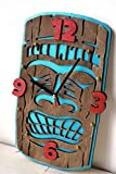 Tiki Handcrafted wooden Wall Clock Review