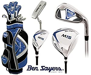 Ben Sayers M15 Golfschläger Set komplett - alle Graphitschaft - Golftasche...