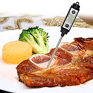 Cooking Thermometers Digital Pen Style Probe Thermometer Food Cooking BBQ Thermometer