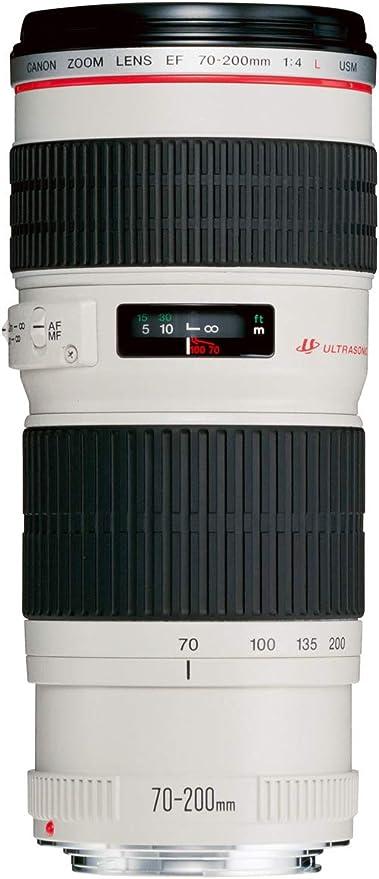 Canon Telezoomobjektiv Ef 70 200mm F4l Usm Für Eos Kamera