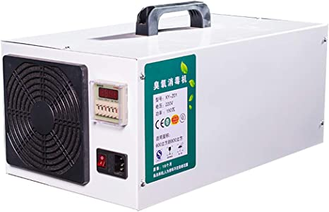 GXFC 10000mg/h Purificador de Aire de generador de ozono de Acero Inoxidable Industrial con UV para vehículos comerciales (Entrega 24 h): Amazon.es: Hogar