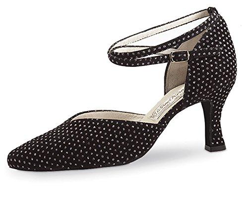 Werner Kern - Zapato de baile para mujer (tacón de 6,5 cm) - Brokat 15