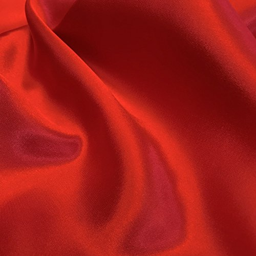 red crepe fabric - 3