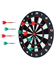 Save on Portzon Unisex Youth Set, Office Relaxing Sport & Family Leisure Time Portzon Dart Board, 16.4 Inch with 6, 16.4''. Discount applied in price displayed.