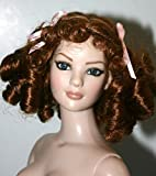 Curly Red Wig w/ Bangs Size 7-8 American Model Tonner - Erika
