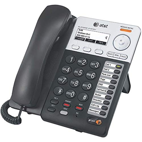 AT&T Synapse SB67025 IP Phone - Wired/Wireless - Wall Mountable, Desktop - Charcoal, Silver