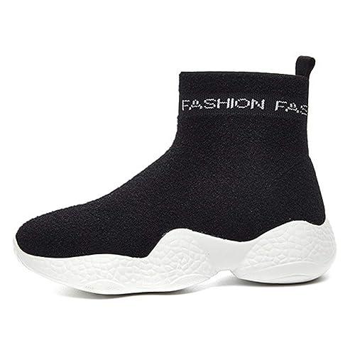 Botas de Mujer Publicaciones de Botines de Moda Zapatos con Plataforma Deportiva Estilo Botas de Confort de Moda: Amazon.es: Zapatos y complementos