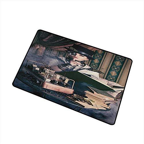 Wang Hai Chuan Gothic Inlet Outdoor Door mat