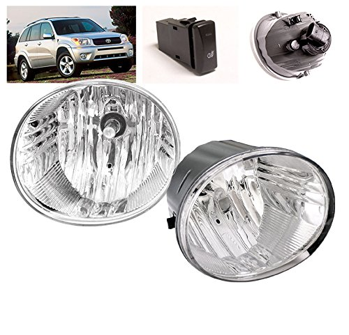 - ZMAUTOPARTS Toyota Rav4 Avalon4Runner Lexus Es330 Bumper Fog Light W/OEM Switch