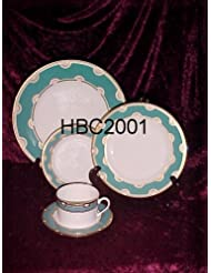 Lenox China Kate Spade Corona Grove Aqua 4 5 Piece Place Settings New In Box
