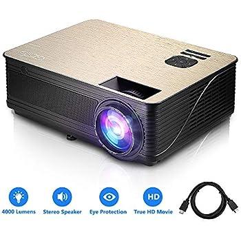 Amazon Com Projector 4000 Lumens Hd Lcd Multimedia Video