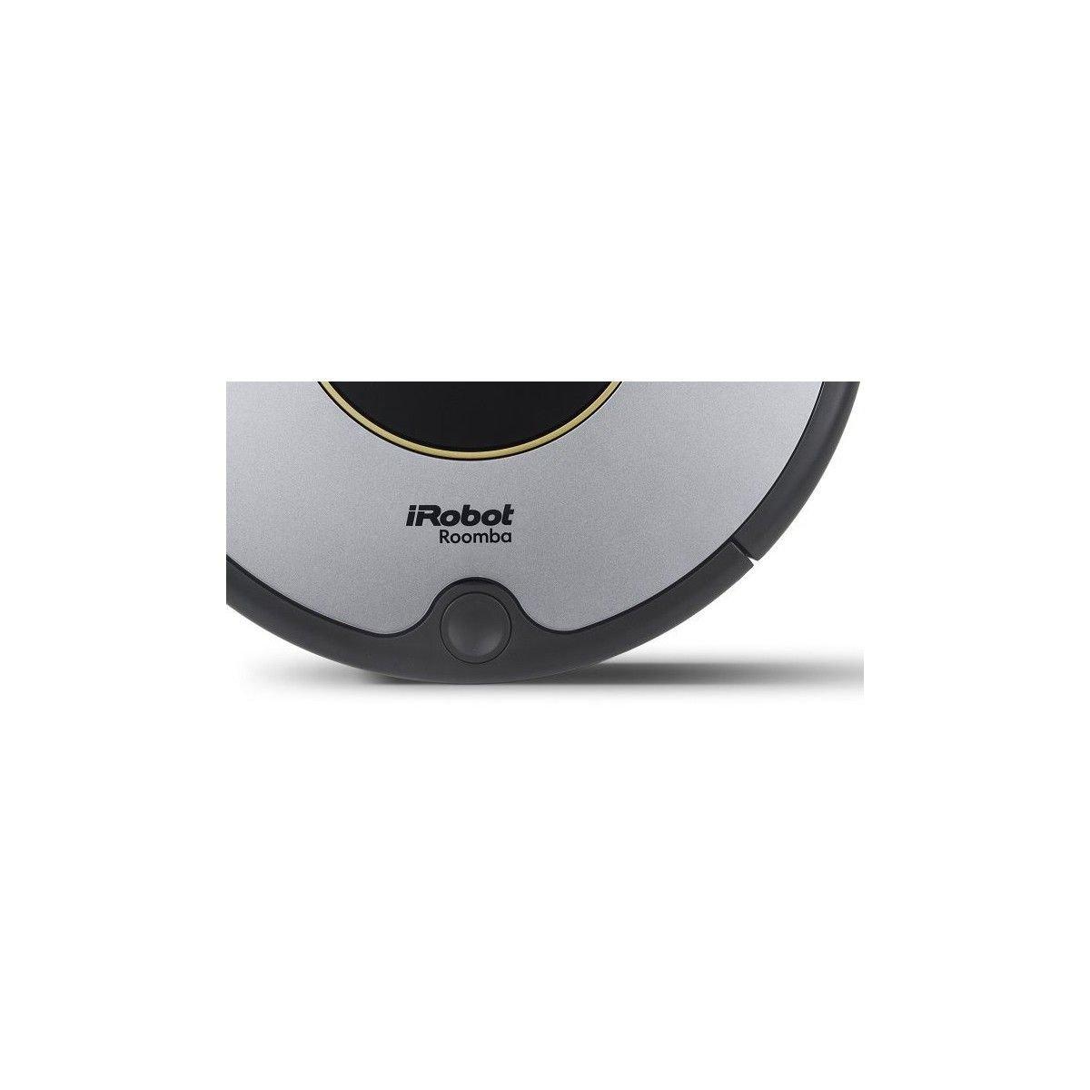 Robot Aspirador Irobot Roomba 616 - Limpieza 3 Fases - Dirt Detect - Cepillo Lateral - Deposito Aerovac - Base De Carga - Bateria Xlife - Gris: Irobot: ...