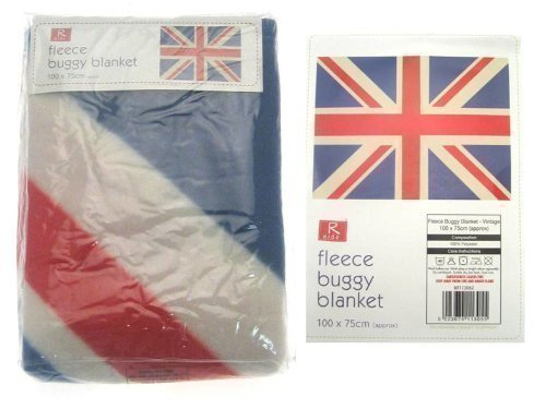 Buggy Blanket - Union Jack (Traditional) (100 x 75cm) R KIDS BIT113062